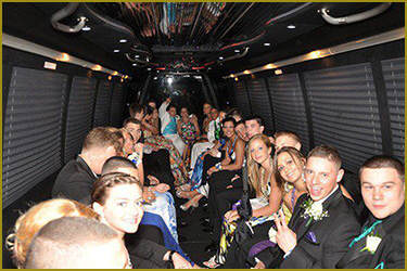 Charleston Prom Party Bus