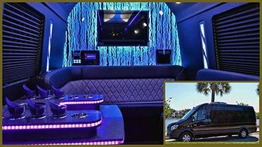 Mercedez-Limo-Bus-Inside-with-Outside-Inset Brewery Tours
