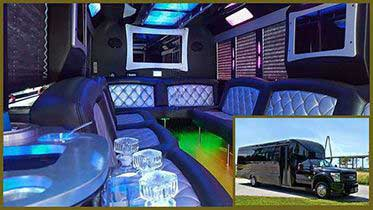 Tiffany-Coach-Inside-with-Outside-Inset Chaarleston Proms Party Bus